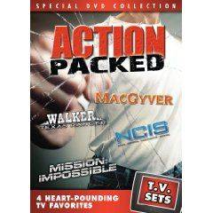 Sets   Action Packed   MacGyver Walker, Texas Ranger NCIS Mission