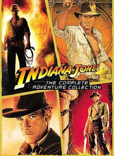 Indiana Jones   The Complete Adventure Collection DVD, 2008, 5 Disc