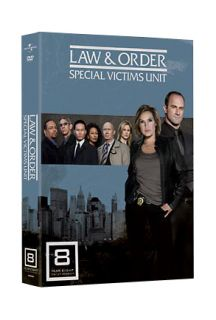Law Order Special Victims Unit   The Eighth Year DVD, 2009, 5 Disc Set