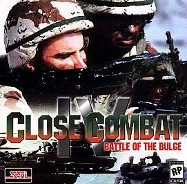 Close Combat IV Battle of the Bulge PC, 1999