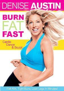 Denise Austin   Burn Fat Fast DVD, 2005