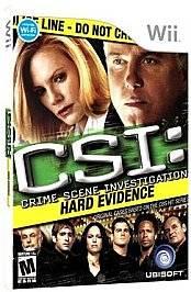 CSI Crime Scene Investigation Hard Evidence Wii, 2008