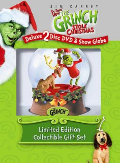 DVD, 2008, Collectable Classic Grinch Snow Globe Premium) (DVD, 2008