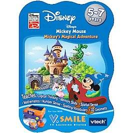 Mickey Mouse Mickeys Magical Adventure V.Smile TV Learning System