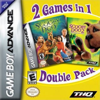 Scooby Doo Movie Dual Pack Nintendo Game Boy Advance, 2006