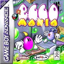 Egg Mania Nintendo Game Boy Advance, 2002