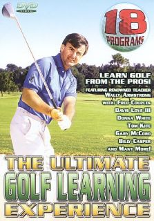 The Ultimate Golf Learning Experience DVD, 2003, 5 Disc Set