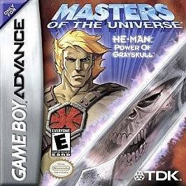 Masters of the Universe He Man    Power of Grayskull Nintendo Game Boy