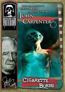Masters of Horror   John Carpenter Cigarette Burns DVD, 2006