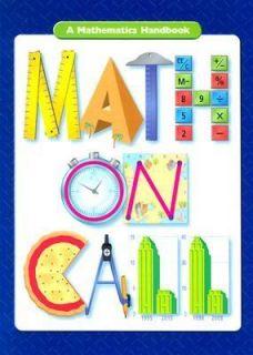Math on Call A Mathematics Handbook by Andrew Kaplan and Carol DeBold