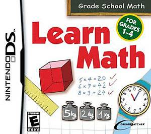 Learn Math for Grades 1 4 Nintendo DS, 2008