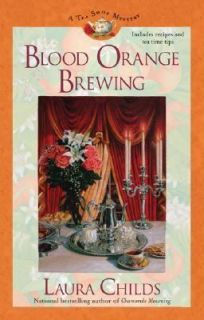 Blood Orange Brewing No. 7 by Laura Childs 2006, Hardcover