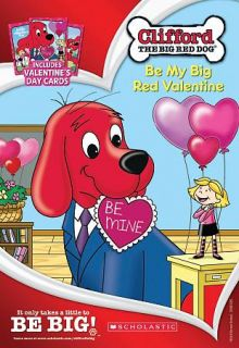 Clifford the Big Red Dog   Be My Big Red Valentine DVD, 2010, With 3