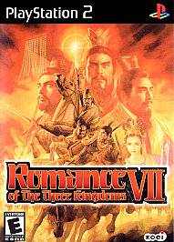Romance of the Three Kingdoms VII Sony PlayStation 2, 2002
