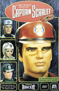 Captain Scarlet   The Complete Series DVD, 2002, 4 Disc Set