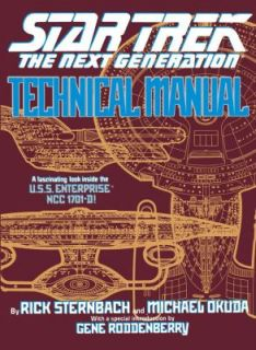Technical Manual by Michael Okuda and Rick Sternbach 1991, Paperback