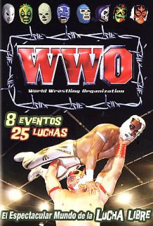 WWO World Wrestling Organization   8 Event Set DVD, 2006