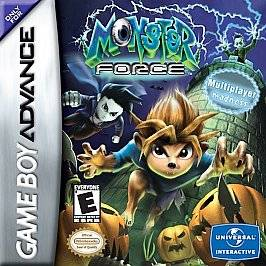 Monster Force Nintendo Game Boy Advance, 2002