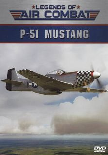 Legends of Air Combat P 51 Mustang DVD, 2010