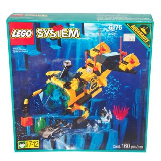 Lego Aquazone Aquanauts Crystal Explorer Sub DSRV II 6175