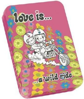 Love Is A Wild Ride Postcards in a Tin Box by Kim Casali 2005