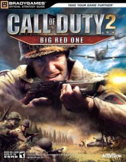 Call of Duty R 2 Big Red One Official Strategy Guide by Brady Games