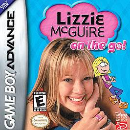 Lizzie McGuire On The Go Nintendo Game Boy Advance, 2003