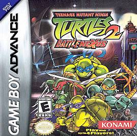 Teenage Mutant Ninja Turtles 2 Battle Nexus Nintendo Game Boy Advance