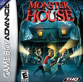 Monster House Nintendo Game Boy Advance, 2006