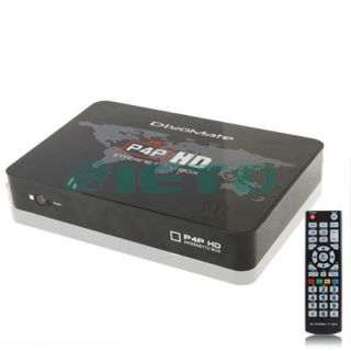 3D Full HD 1080P WIFI TV Box Media Player Support Blu ray and 3D