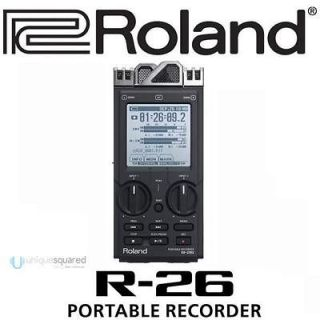 26 Six Channel Portable Recorder with High Speed USB Audio Interface