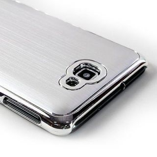 Silver Deluxe Metal Aluminum Hard Case Cover for Samsung Galaxy Note