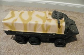 1983 Hasbro GI JOE APC Amphibious Personnel Carrier Deluxe Vehicle Not
