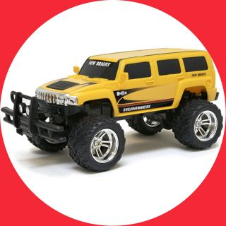 New Bright RC Radio Control Hummer H3 49MHz Car Vehicle Boys Gift 6