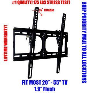 NEW LCD LED PLASMA FLAT TILT TV WALL MOUNT 20 26 30 32 37 42 46 50 52