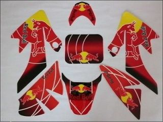 NEW 3M graphics kit decals STICKER for HONDA MOTORCYCLE DIRT PIT BIKE