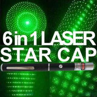 6in1 BARELY LEGAL HD™ Star Green Laser Pointer Astronomy Cap  Pen