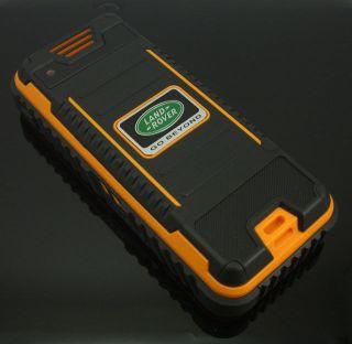 Brand New Orange GO BEYOND LAND ROVER IP67 Water Dust Shock PROOF
