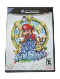 Nintendo Gamecube / Wii Video Game Super Mario Sunshine