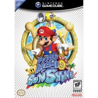 Super Mario Sunshine    Nintendo GameCube / Wii Game