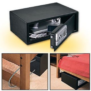 Laptop Safe Cash Box Deposit Gun Document Digital Home Office
