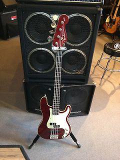 Fender Aerodyne Classic Precision Bass Special transparent Red
