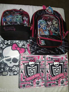 3D16 Backpack & Lunch Box + 2 3D Cover Notebooks & 1 Sku Portfolio