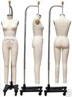 Professional dress form, Mannequin,Full Size 4, w/legs