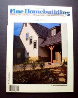 HOMEBUILDING Magazine #85 Kitchen Cabinets Built in Hutch Fire Wall