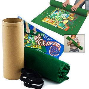 Roll & Store Felt Mat Stores 2000 Puzzle Piece Jigsaws Tidy Storage