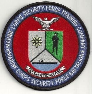 Marine Corps Security Force Training Company and Battalion USMC patch