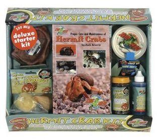 Deluxe Hermit Crab Starter Kit HCK 13