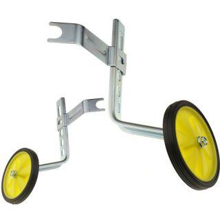 Adjustable Kids Bicycle Bike Training Wheels Fits 12 to 20