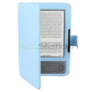 Leather Carry Skin Case Cover PouchFor  Kindle 3 3G keyboard